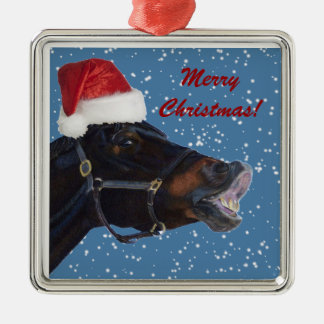 Funny Pony Christmas Ornament
