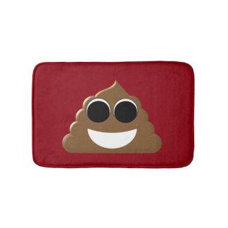 Funny Poop Emoji Bath Mat