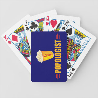 Funny Popcorn Bicycle Playing Cards