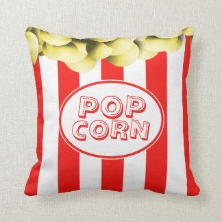 Funny Popcorn Box Movie Theme Cushion