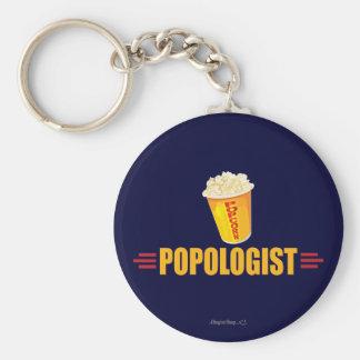 Funny Popcorn Key Ring