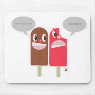 funny popsicle mouse pad