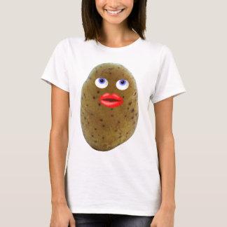 Funny Potato Character Women's T-Shirt