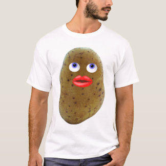 Funny Potato Cute Character Men's T-Shirt