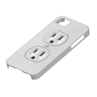 Funny Power Outlet iPhone 5 Case