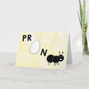 2617f2abf65dc Funny Pregnancy Announcement Card - Pregnant