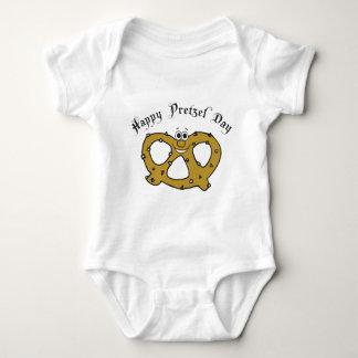 Funny Pretzel Baby Bodysuit