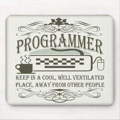 Funny Programmer Mousepad