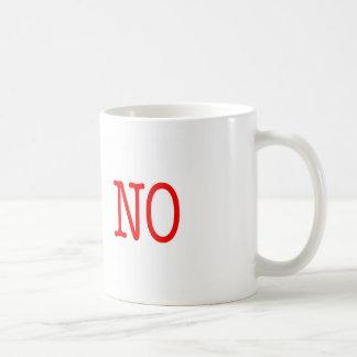 Funny Project Management Saying No Basic White Mug