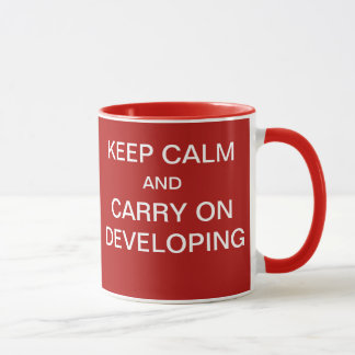 Funny Project System Developer Gift - Go Live Joke Mug