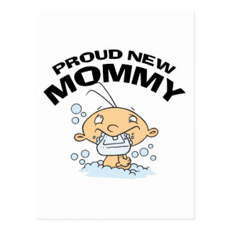 Funny Proud New Mommy Postcards