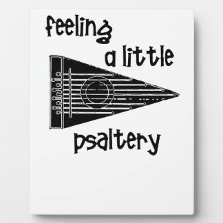 Funny Psaltery Display Plaques