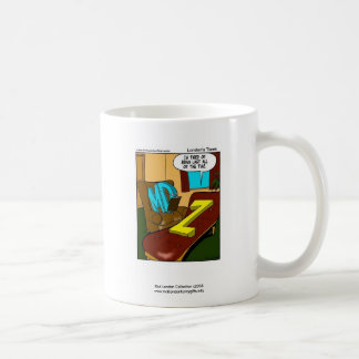 Funny Psychiatry Cartoon On Quality Coffee Mug