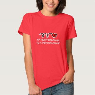 Funny psychologist t-shirt for women