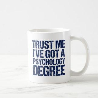 Funny Psychology Graduation Coffee Mug
