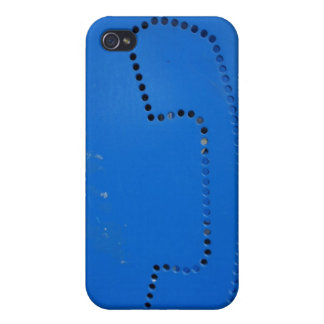 Funny Public Pay Booth Silhouette iPhone 4/4S Cover