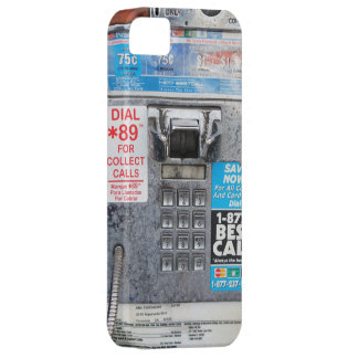 Funny Public Pay Phone Booth iPhone 5 Case