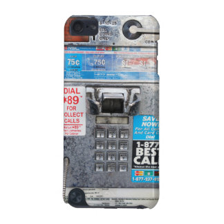 Funny Public Pay Phone Booth iPod Touch 5G Cases