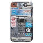 Funny Public Pay Phone Booth iPod Touch Case-Mate Case