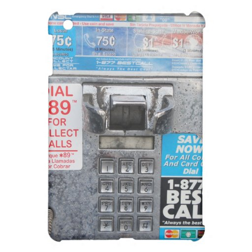 Funny Public Pay Phone Booth Case For The iPad Mini
