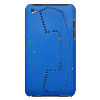 Funny Public Pay Phone Booth Silhouette iPod Case-Mate Cases