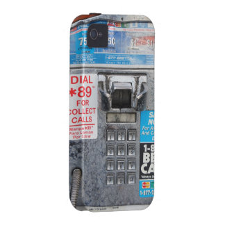 Funny Public Payphone Booth Case-Mate iPhone 4 Case