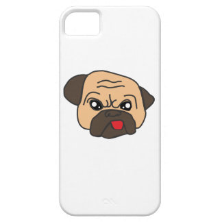 Funny Pug iPhone 5 Cases