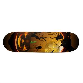 Funny pumpkin skate decks
