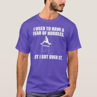 Funny Pun About Hurdles T-Shirt