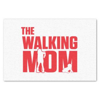 Funny pun the walking mom jokes for halloween tissue paper