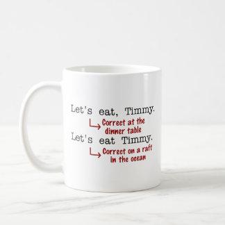 Funny Punctuation Grammar Mugs