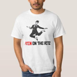 Funny Putin On The Ritz T-Shirt