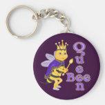 Funny Queen Bee Keychain