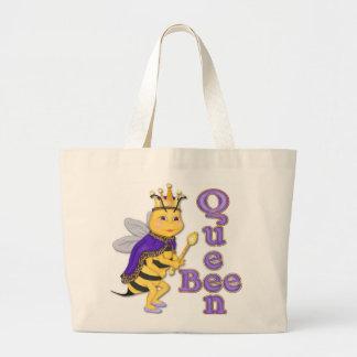 Funny Queen Bee Jumbo Tote Bag