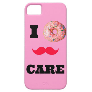 Funny quote I donnut(DONT) care Iphone case iPhone 5 Cover
