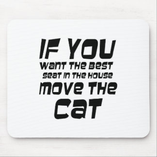 Funny quotes gifts mousepads cat gift ideas