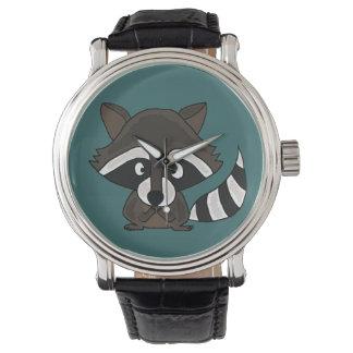 Funny Raccoon Art Watch