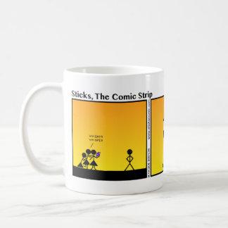 Funny Raccoon Eyes Stickman Mug - 126