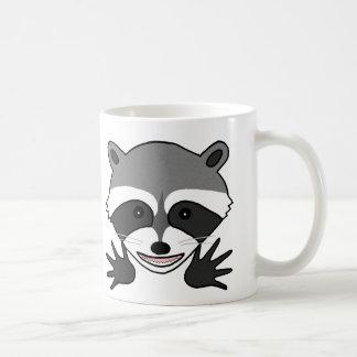 Funny Raccoon Mug Custom Name Joker Raccoon mug