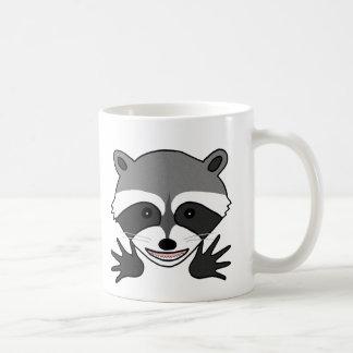 Funny Raccoon Mug Joker Raccoon Animal Graphic Mug