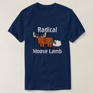 "Funny ""Radical Moose Lamb"" T-Shirt"