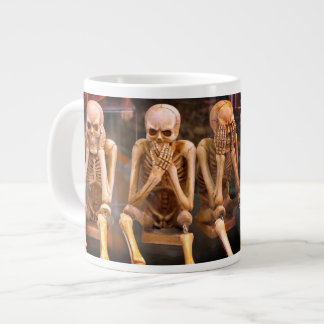 "Funny Radiologists ""Hear No Evil..."" Large Coffee Mug"