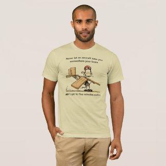 Funny Rat Aviation Joke T-Shirt