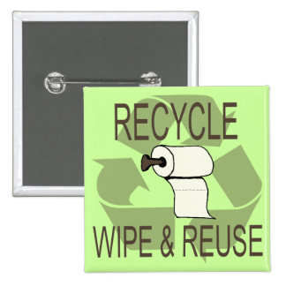 Funny Recycle Button