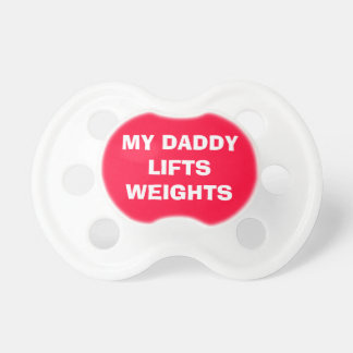 Funny Red Gym Single Daddy Fit Dummy