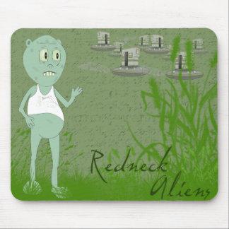 Funny Redneck Aliens Mousepad