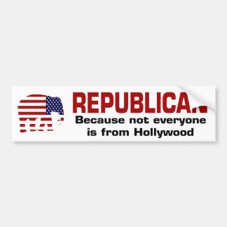Funny Republican Bumpersticker Bumper Sticker