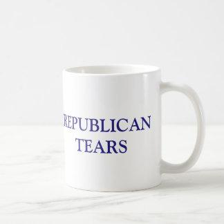 Funny Republican Tears Anti Republican Democrat Coffee Mug