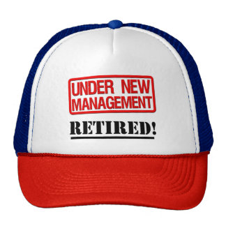 Funny retired hat