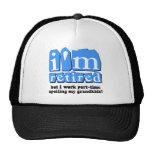 Funny retirement cap
